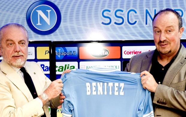 Rafa Benitez apresentado Napoli (Foto: EFE)