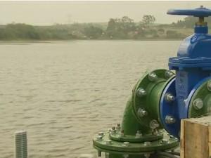 Escassez de água na Bacia PCJ (Foto: Reprodução/EPTV)