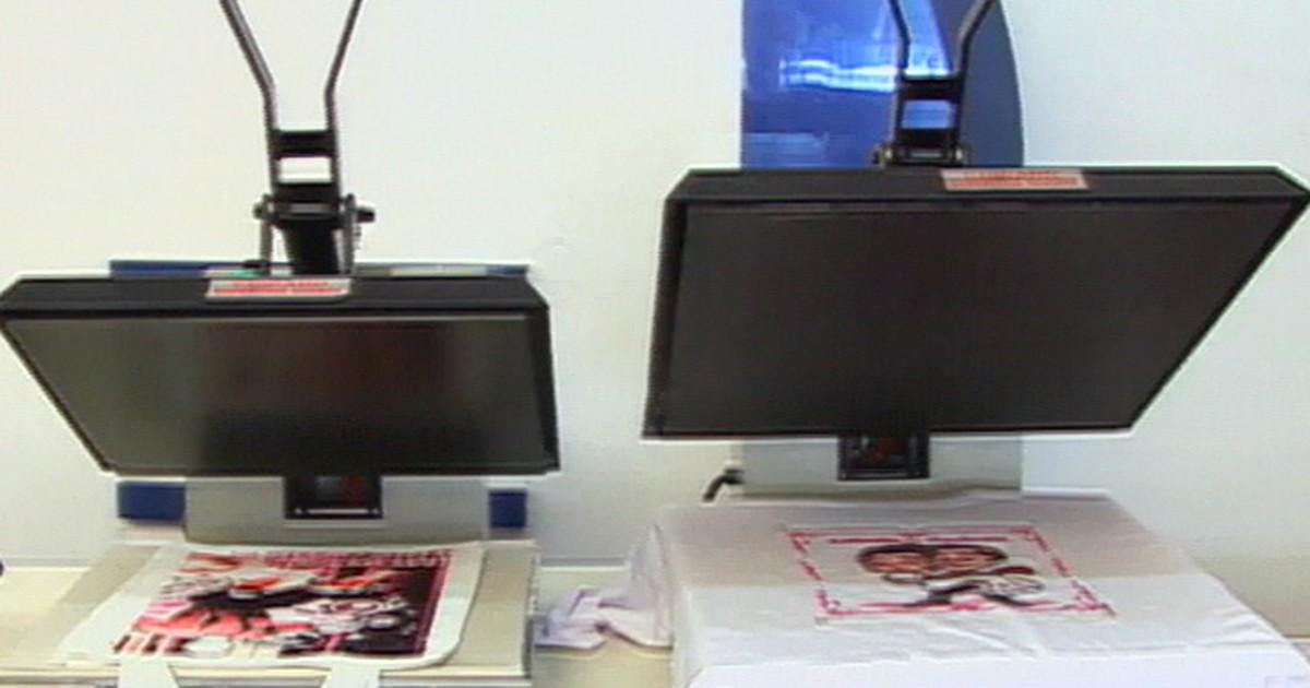PME - Máquina de estampar tecidos e objetos gera bons negócios 0e3bdd7da71