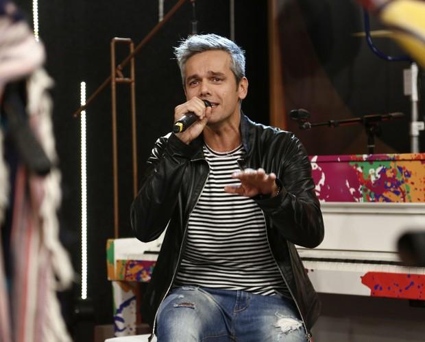 Otaviano Costa diz que largou música pelo casamento (Foto: Raphael Dias/Gshow)