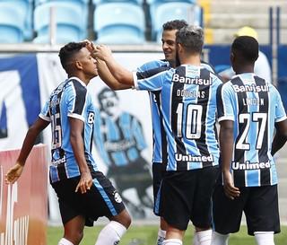 Pedro Rocha Bobô Grêmio (Foto: Lucas Uebel/Grêmio)