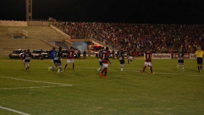 Campinense x Botafogo-PB, pelo Paraibano (Foto: Silas Batista / GloboEsporte.com/pb)