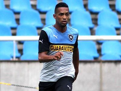 Luis Ricardo Treino Botafogo (Foto: Vitor Silva / SSpress)