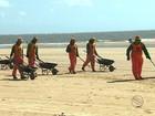Vazamento de óleo atinge praias de Aracaju e Barra dos Coqueiros