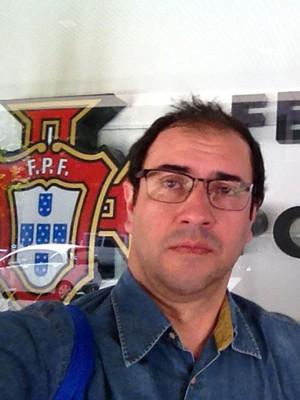 Guto Braga Uberlândia Federação Portuguesa de Futebol (Foto: Arquivo Pessoal)