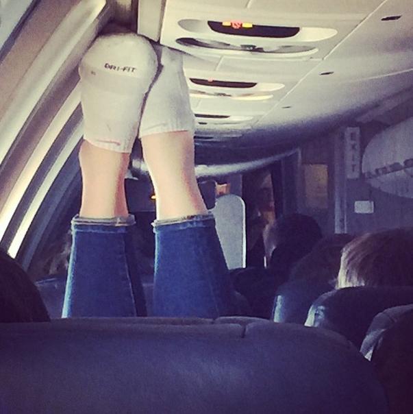Instagram mostra passageiros de avião que deveriam ser proibidos de embarcar em outros voos