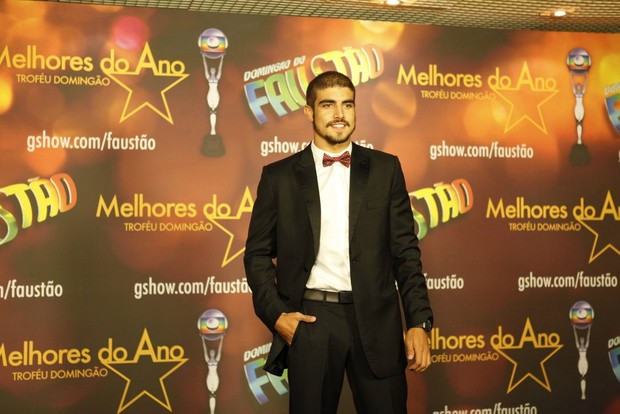 Caio Castro no Prêmio Melhores do Ano (Foto: Marcos Serra Lima / EGO)