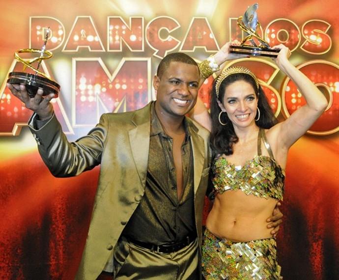 Claudia Ohana foi vice-campeã do 'Dança dos Famosos' em 2012 (Foto: Gshow)