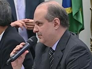 Dalton Avancini fala à CPI da Petrobras (Foto: Reprodução)