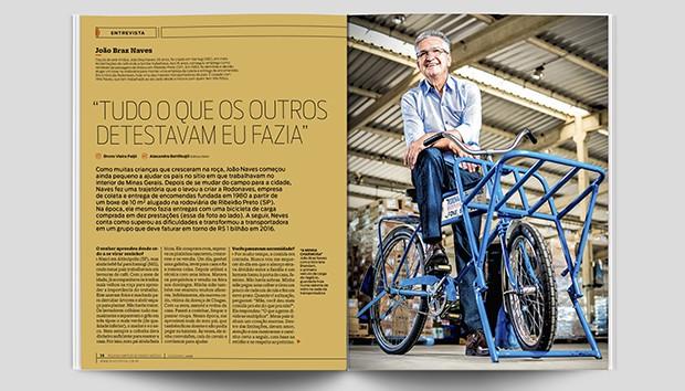 João Braz Naves é o entrevistado das páginas laranjas (Foto: PEGN)