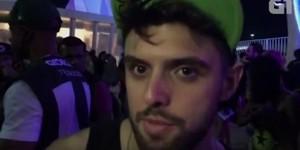 VÍDEO: 'Katy Perry mudou minha vida', diz fã que foi beijado (Reprodução/G1)