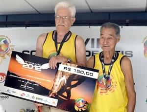 Corrida de Reis idosos (Foto: Marcus Aurélio/GLOBOESPORTE.COM)