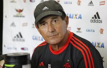 """Muricy espera jogo franco e elogia campo do Vasco: """"Problema nenhum"""""""