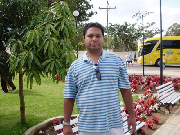 Anderson Fernandes, de 40 anos, trabalhava como chefe de informática da Prefeitura de Natal (Foto: Arquivo Pessoal)