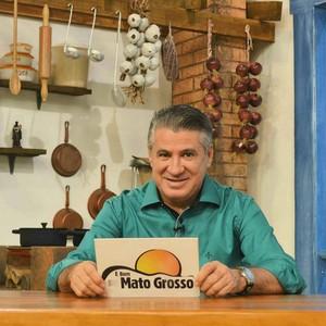 Pescuma de Morais, apresentador do É Bem Mato Grosso (Foto: Luana Daubian/ É Bem MT)
