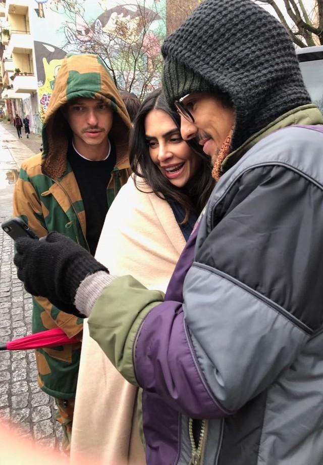 Cleo Pires assina coleção-cápsula para a Triton com campanha em Berlim, na Alemanha (Foto: Yuri Sardenberg e Aninha Monteiro)