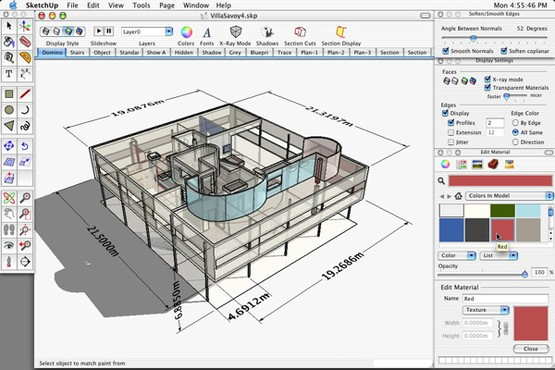screenshot de Google SketchUp