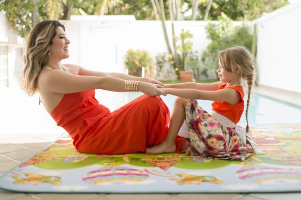 Renata Muller e Sophia (Foto: Mi Garcia)