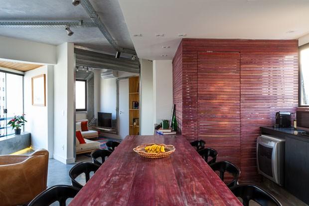 Apartamento pequeno com ideias econômicas (Foto: Alessandro Guimarães / divulga)