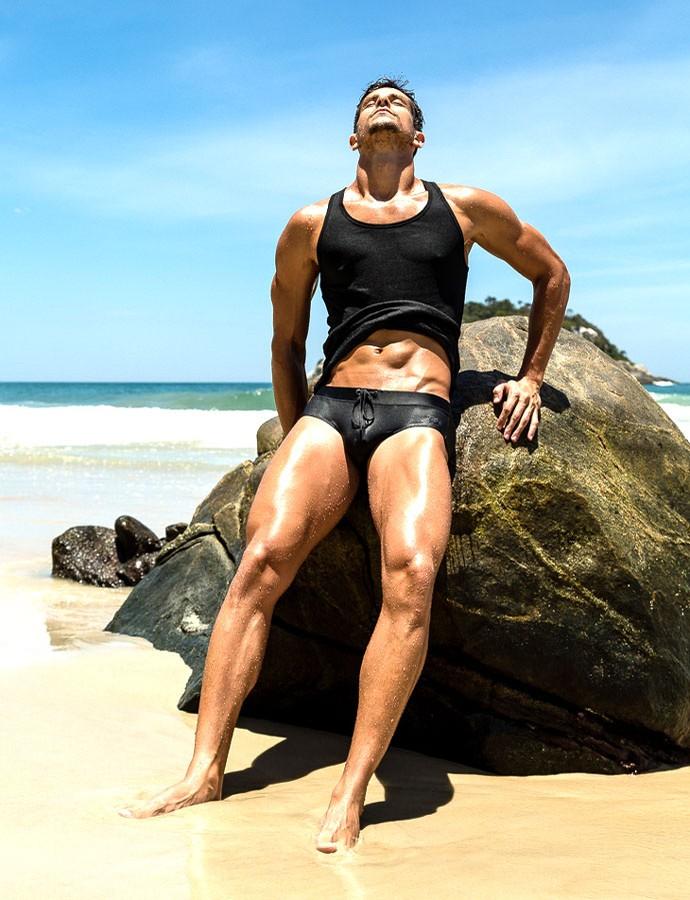 Felipe Martins Nadador (Foto: Jeff Segenreich (Salt Mgt))