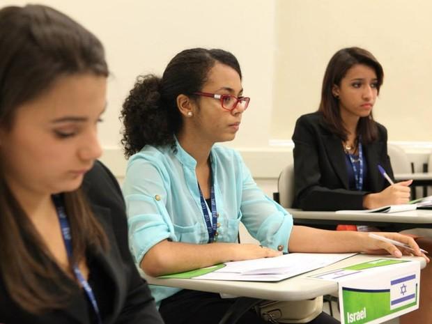 Bruna começou a estudar para a Fuvest assim que entrou no ensino médio (Foto: Bruna Sena / Arquivo Pessoal)