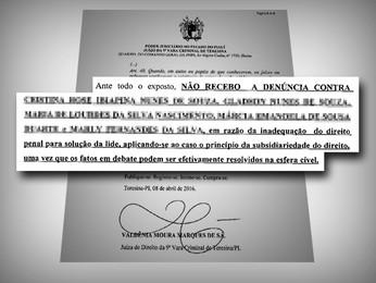Justiça rejeita ação contra proprietários de construtora  (Tribunal de Justiça do Piauí)
