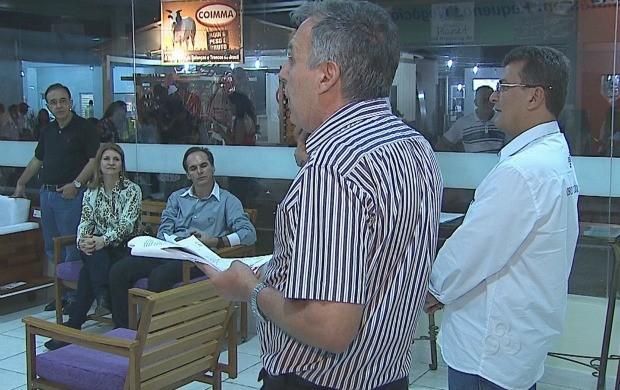 O lançamento do prêmio aconteceu durante a Expoacre. (Foto: Acre TV)
