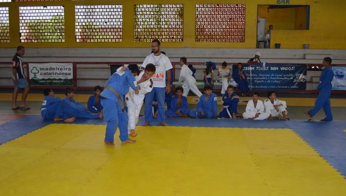 Virada esportiva em Cacoal, RO (Foto: Magda Oliveira)