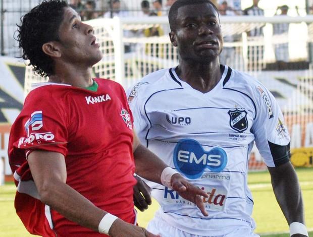 Lance do jogo entre ABC-RN e Boa Esporte (Foto: Frankie Marcone / Agência Estado)