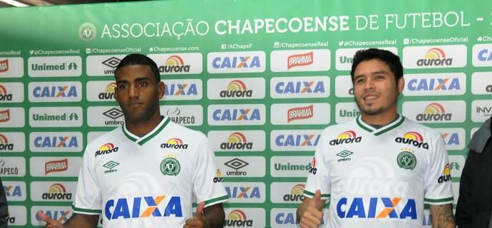 Rychely Zezinho Chapecoense (Foto: Cleberson Silva/Chapecoense)