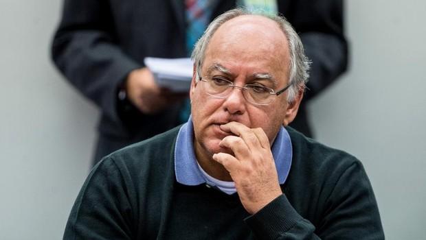O ex-diretor da Petrobras, Renato Duque , condenado na Operação lava Jato (Foto: Marcelo Camargo/Agência Brasil)