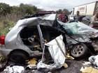Vítimas de acidente que deixou cinco mortos na BA recebem alta médica