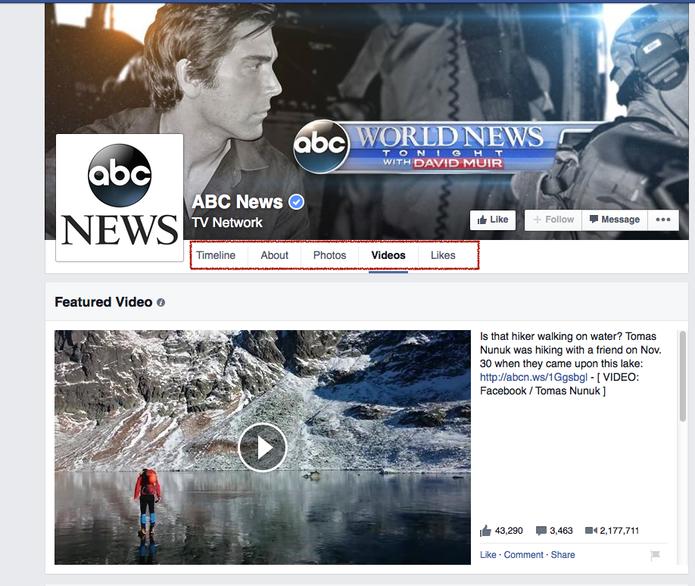 Páginas de vídeos do Facebook vão ficar parecidas com as do Youtube, do Google (Foto: Reprodução/Facebook)