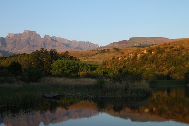 Cordilheira de Drakensberg, na África do Sul (Foto: Martie Swart/Flickr)