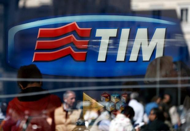 Loja da operadora de telefonia TIM , que pertence à Telecom (Foto: Reprodução/Facebook)