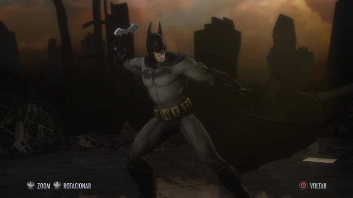 Batman de Arkham City (Foto: Reprodução/Felipe Vinha)