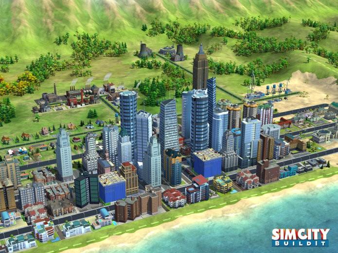SimCity BuildIt será lançado para aparelhos com iOS e Android. (Foto: Divulgação)