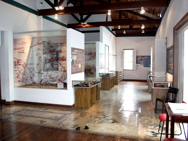 Museu de Arqueologia e Paleontologia de Araraquara (Foto: Paulo Mantoanelli)