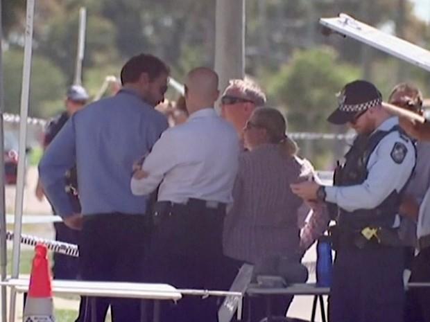 Imagem mostra albergue em Queensland, na Austrália, onde uma britânica foi morta por um susposto jihadista francês nesta quarta-feira (24) (Foto: Australian Broadcasting Corporation/ AP )
