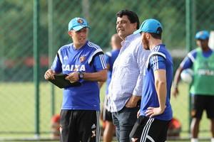 Treino do Sport Eduardo Baptista (Foto: Aldo Carneiro/Pernambuco Press)