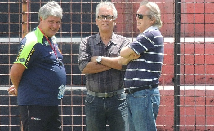 Geninho Luciano Bivar Marcos Amaral Sport (Foto: Elton de Castro)