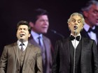 Daniel canta com Andrea Bocelli: 'Sem palavras para expressar o que senti'