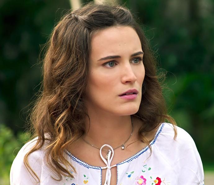 Maria chega a conclusão sobre paradeiro de Filó (Foto: TV Globo)