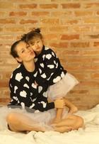 Bianca Castanho posa com a filha e diz: 'Cecília vai ser filha única'