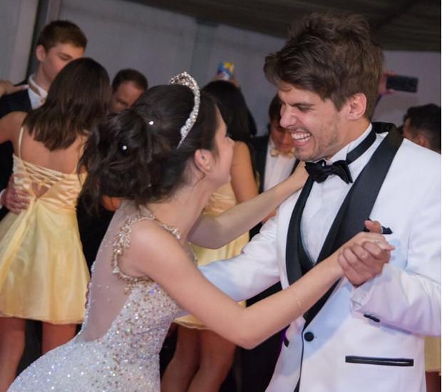 Bianca Paiva e Eric Surita (Foto: Thiago Duran/AgNews)