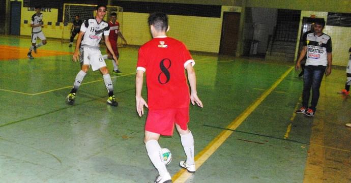 Afa/Durax e Colinas Futsal empataram em 5x5 (Foto: Divulgação/FTFS)