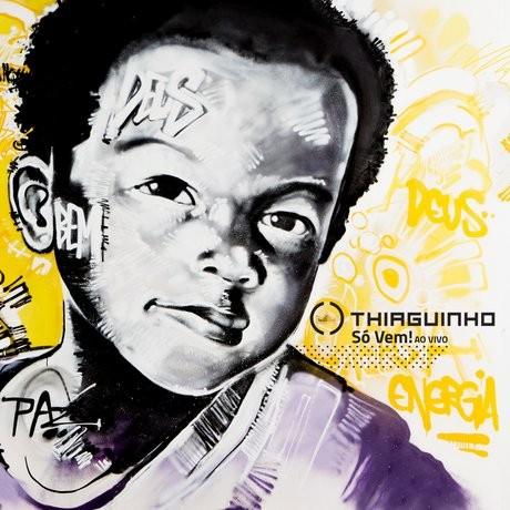 Confira a capa de 'S Vem', novo disco de inditas de Thiaguinho (Foto: Divulgao)