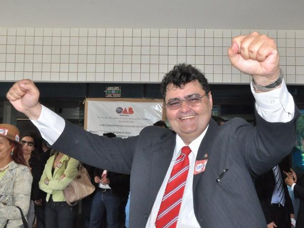 Mário Macieira é reeleito presidente da OAB-MA (Foto: Biaman Prado/O Estado)