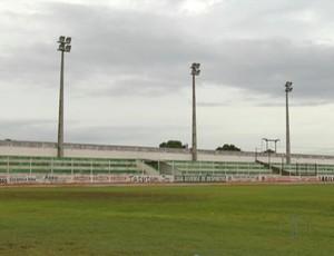 Estádio Edgarzão, em Assu (Foto: Reprodução/Inter TV Cabugi)