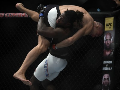 Clint Hester x Vitor Miranda UFC 190 UFC Rio MMA (Foto: André Durão)